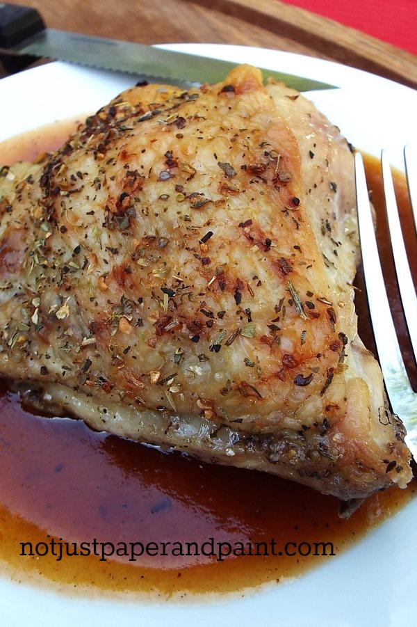 Semi-Homemade BBQ Sauce Chicken