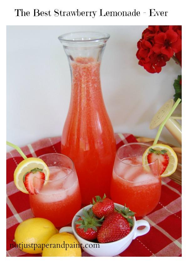 best strawberry lemonade - ever