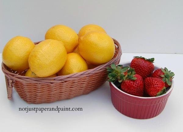 lemons & strawberries