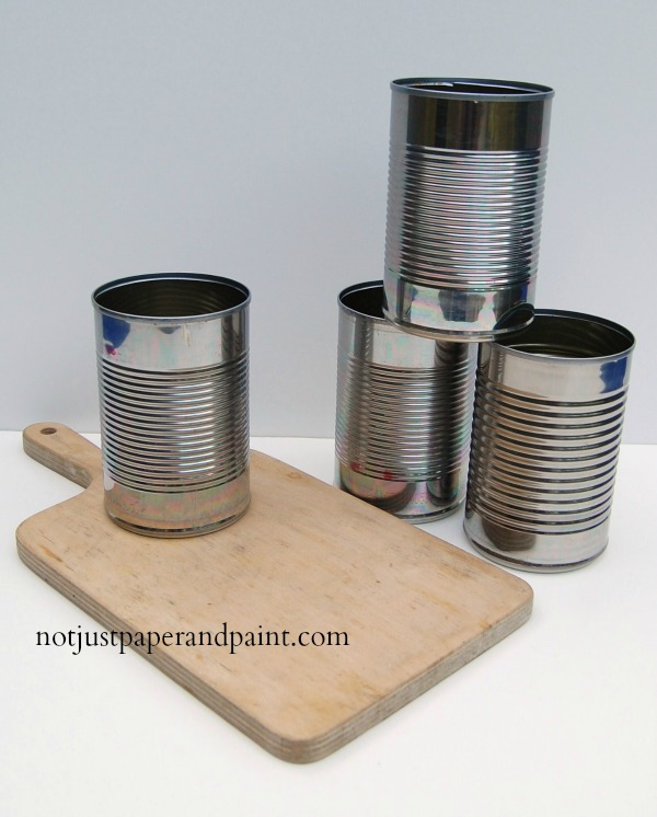 tin can before