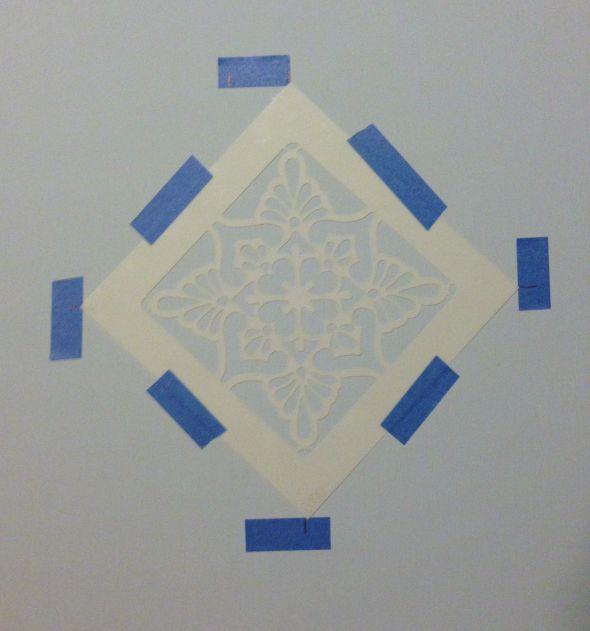 crate taped stencil