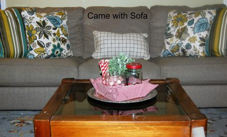 with sofa