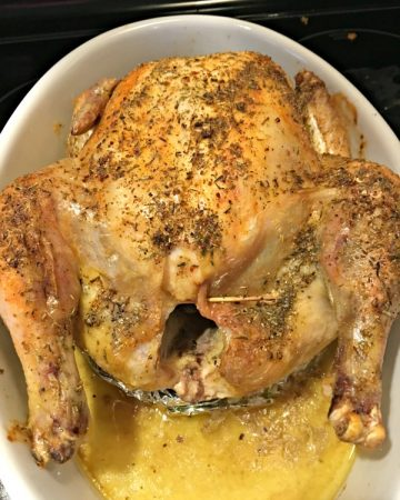 The Perfect Roasted Chicken