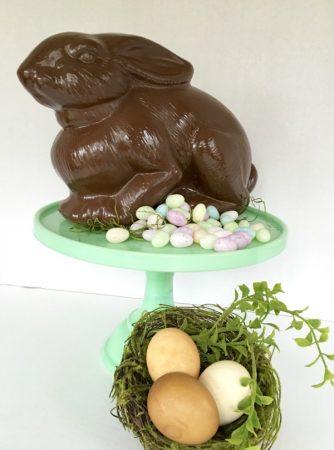 bunny & eggs notjustpaperandpaint.com