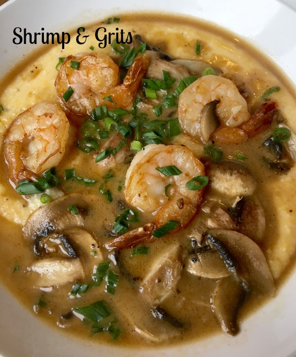 Shrimp & grits notjustpaperandpaint.com