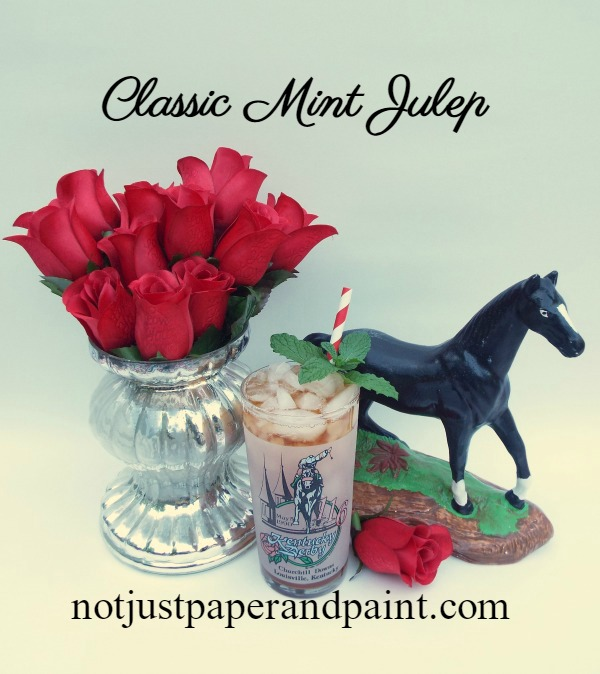 mint julep classic name derby glass notjustpaperandpaint.com