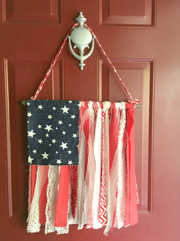 shabby chic flag
