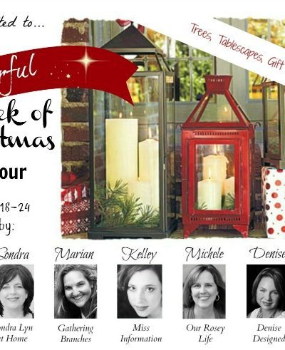 It's a Wonderful Week of Christmas Blog Tour