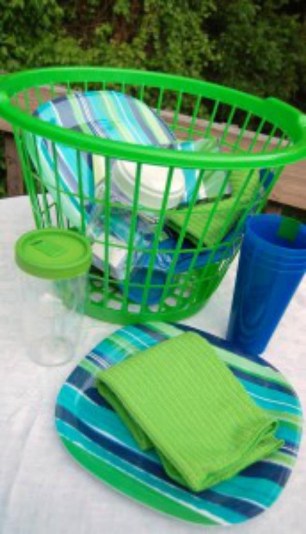 picnic basket setting 2