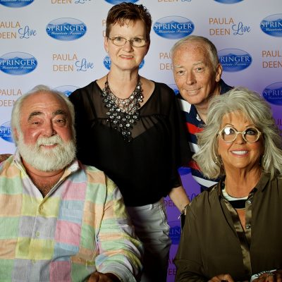 My Evening at Paula Deen Live