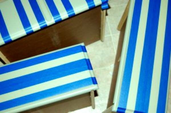 striped nightstand drawer tape