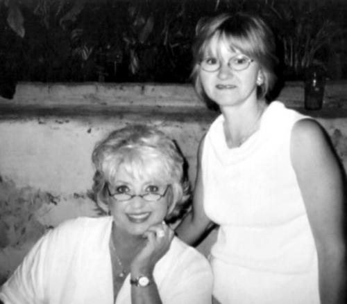 me and Paula Deen