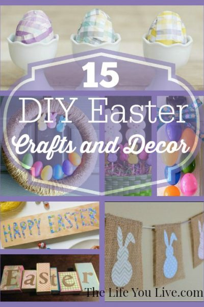 15 DIY Easter Crafts and Decor