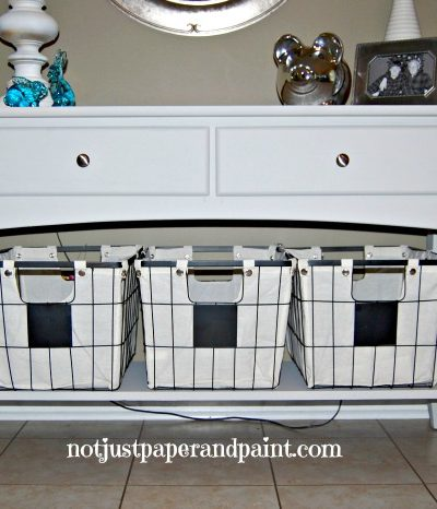 Sofa Table with Amy Howard One Step Paint