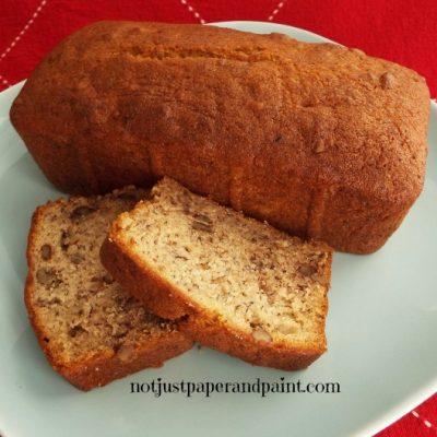Buttery Banana Nut Bread