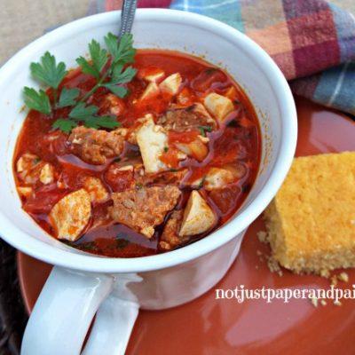Chicken Chorizo Gumbo – Perfect for the Fall