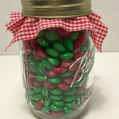 Candy Gift Jar with a Surprise