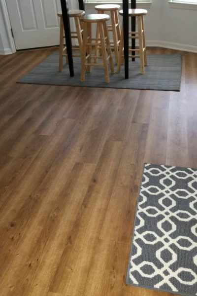 Kitchen Project – Finished Floor