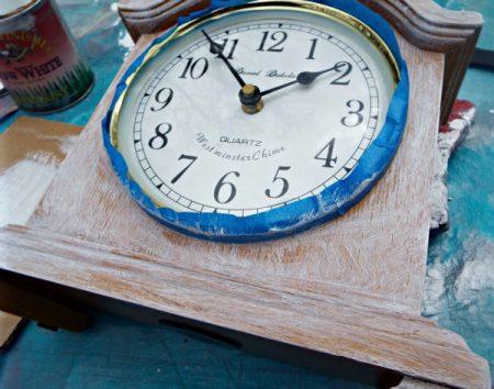 front clock