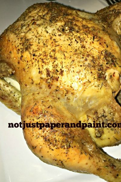 The Perfect Roasted Whole Chicken Recipe