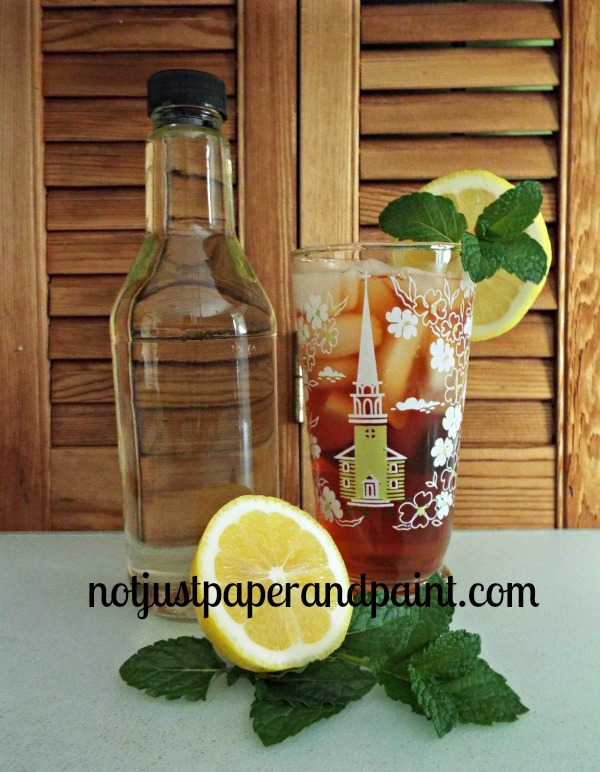 syrup with tea named notjustpaperandpaint.com