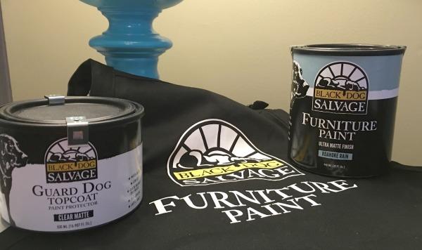 black dog salvage paint