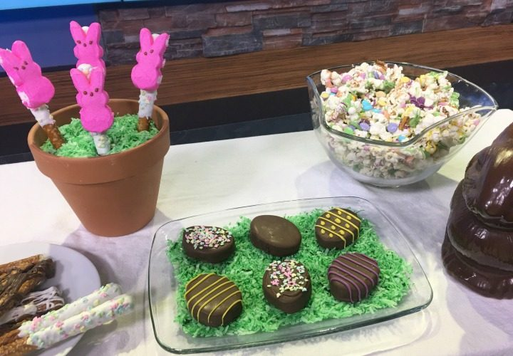 Chocolate Covered Peanut Butter Easter Eggs