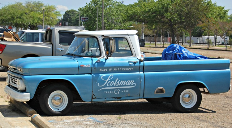 scotsman blue truck