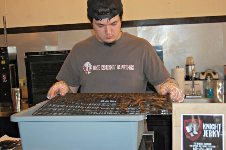 homemade jerky
