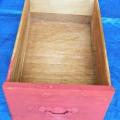 repurpose drawers for storage