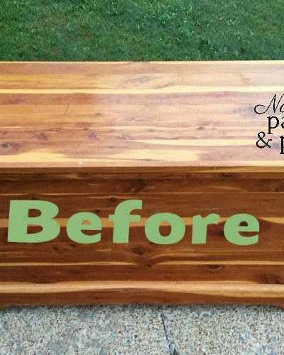 Not My Old Cedar Chest Any More
