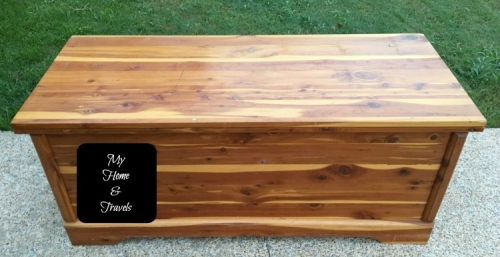 Simple Cedar Chest Makeover