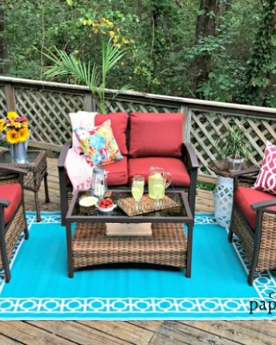 Easy Entertaining On The Deck