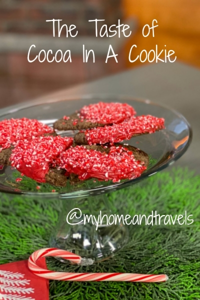taste of cocoa in a cookie my home and travels