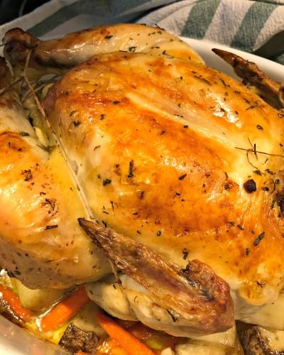 Tuscan Style Roasted Chicken