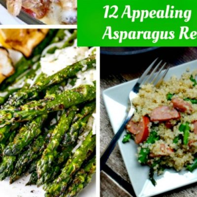 12 Appealing Asparagus Recipes