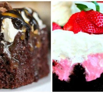 12 Tasty Poke Cake Recipes