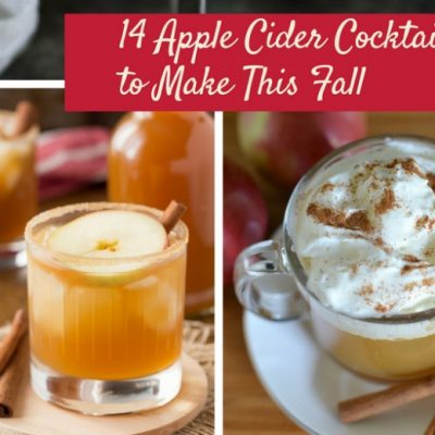 14 Apple Cider Cocktails to Make This Fall