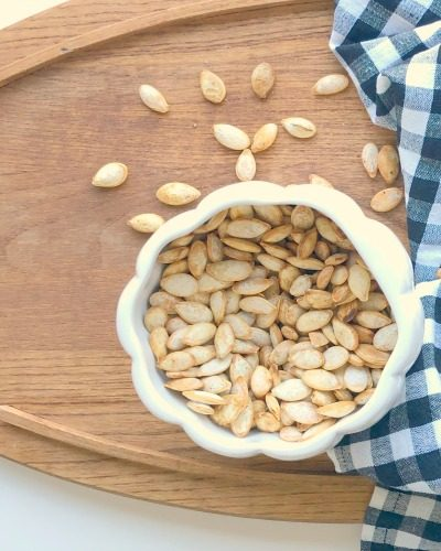 Don't Throw Out Those Pumpkin Seeds
