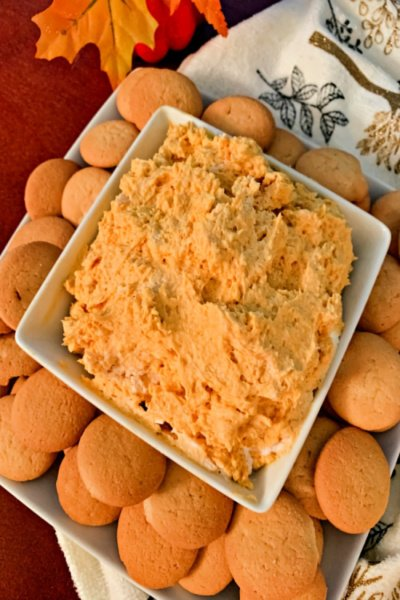 easy-pumpkin-cheesecake-dip-my-home-and-travels featured image