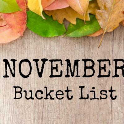 November Bucket List For Chattanooga