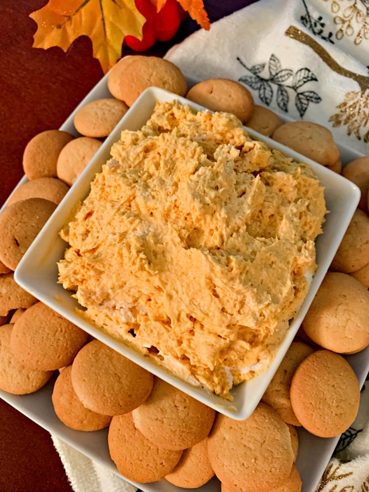 pumpkin cheesecake dip