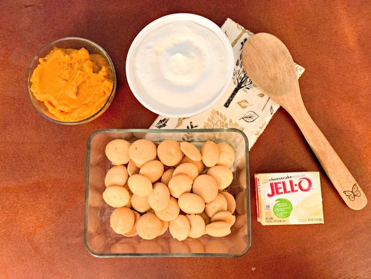 ingredients for pumpkin cheesecake dip