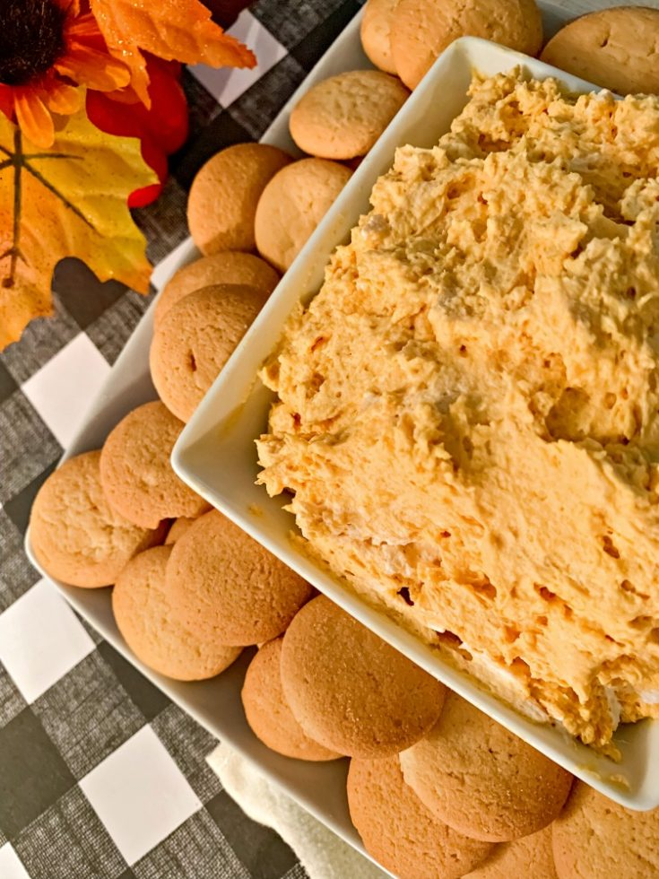 Simple Pumpkin Cheesecake Dip
