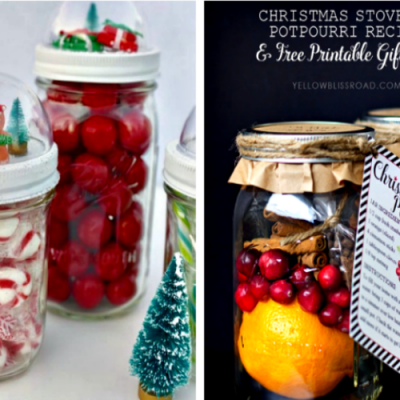 12 Mason Jar Crafts to DIY