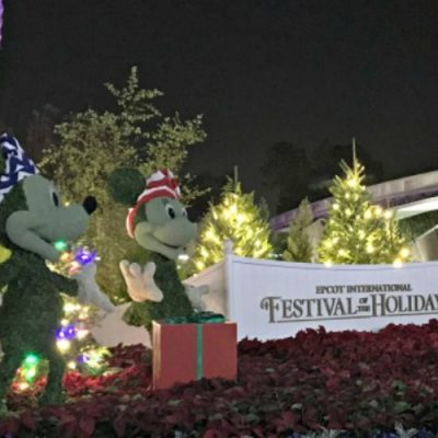 A Few Tips And Favorite Things For Visiting Epcot During Christmas