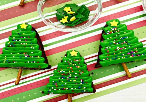 christmas in july roundup my home and travels christmas tree shaped brownie