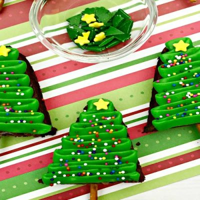 Christmas Tree Brownies – Holiday Brownies Made Simple