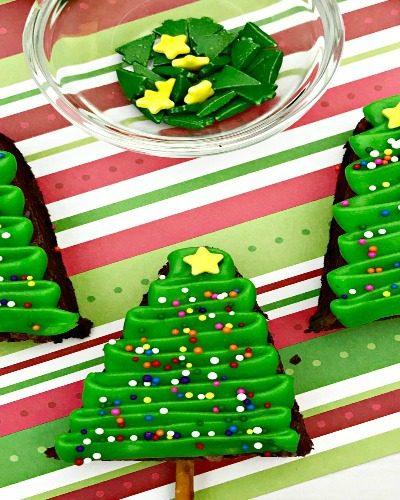 Christmas Tree Brownies – Holiday Brownies Made Simple