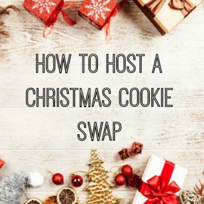 How To Host A Christmas Cookie Swap